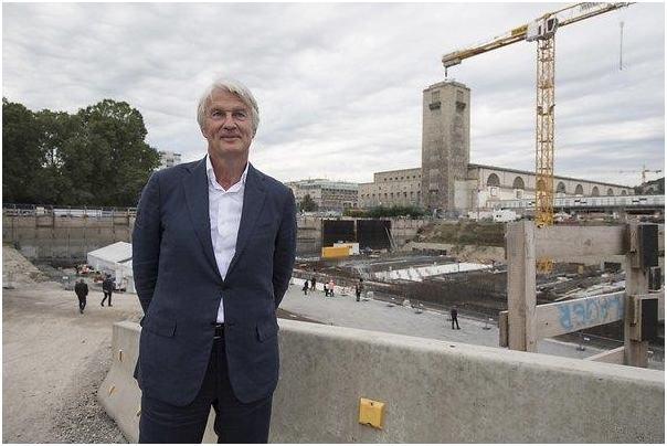 Christoph Ingenhoven az Ingenhoven Architects tulajdonos vezető tervezője