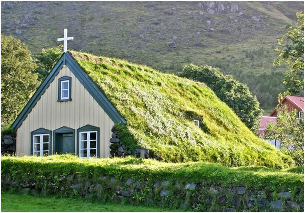 Templom fedése skandináv módra